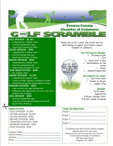 Preston County Chamber of Commerce Annual Golf Scramble @ Alpine Lake Resort | Terra Alta | West Virginia | United States