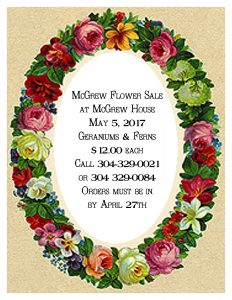 McGrew Flower Sale