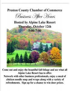 Business After Hours hosted by Alpine Lake Resort @ Alpine Lake Resort