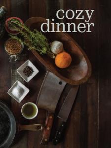 Cozy Dinner at Modern Homestead @ Modern Homestead | Reedsville | West Virginia | United States