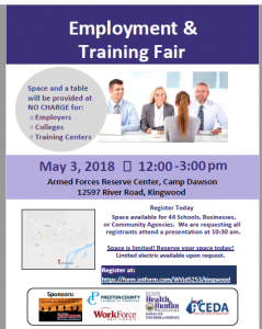 Employment and Training Fair @ Armed Forces Reserve Center | Kingwood | West Virginia | United States